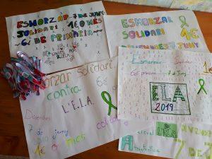 Esmorzar solidari projecte ELA